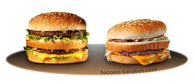 Success burgers, who knew?